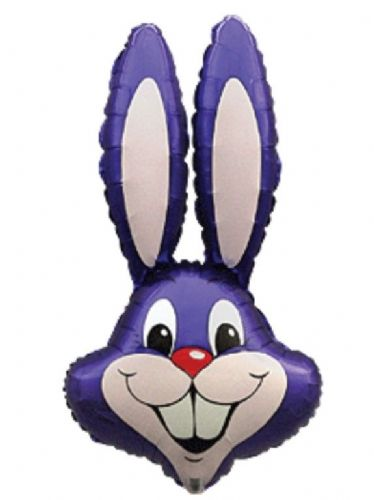 Jumbo Purple Rabbit Balloon
